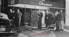 """CHASEN'S – Dave Chasen's legendary Hollywood restaurant to the stars didn't allow credit cards or """"celebrity chefs""""! Chasen's Chili!"""