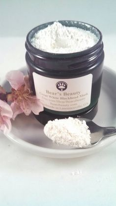 Great White Blackhead Powder | Dry Clay + Mineral Mask | Helps Remove Excess Oil + Prevent Future Blackheads with Regular Use