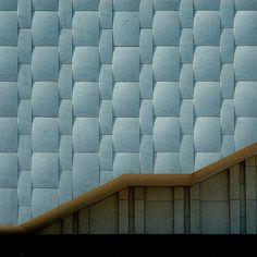 Alvar Aalto   Finlandia Hall - Carrara marble cladding