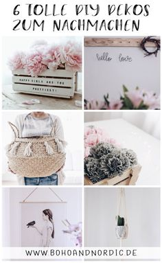 6 great DIY decorations to imitate – that's how beautiful DIY can be Decorative Wooden Boxes, Wooden Diy, Elegant Home Decor, Diy Home Decor, Fun Crafts, Diy And Crafts, Diy Cans, Wood Letters, Crepe Paper