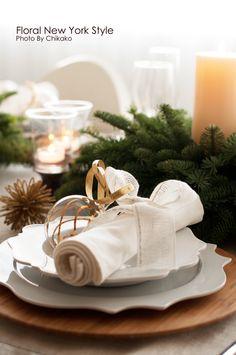 Table Decorations / Table Settingsフローラルニューヨーク・大塚智香子のスタイルのある暮らし|25ansオンライン