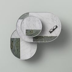 Patch Marble Tables - collaboration between Note Design Studio and Norm Architects for Menu.