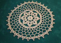 Serwetka beżowa w Barabella_shop na DaWanda.com