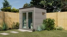 The office pod - 3 sizing options Outdoor Office, Backyard Office, Garden Office, Outdoor Decor, Composite Cladding, Wood Cladding, Home Office Space, Home Office Design, Micro Garden