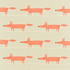 Scion Mr Fox wallpaper from John Lewis | Bathroom wallpapers | Bathroom | PHOTO GALLERY | Style at Home | Housetohome.co.uk