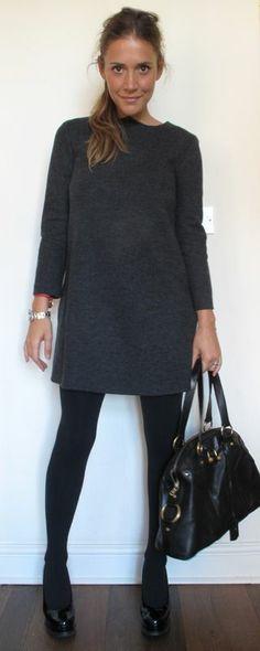 Wearing It Today: Tunic dress. www.wearingittoday.co.uk