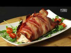 Pierś z kurczaka zawijana w boczku - YouTube Pork, Make It Yourself, Youtube, Kale Stir Fry, Pork Chops, Youtubers, Youtube Movies