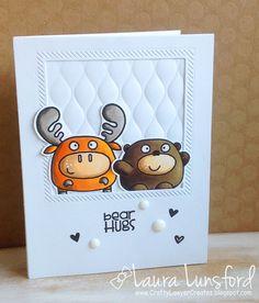 Crafty Lawyer Blogs: Paper Smooches - Bear Hugs