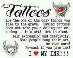 If you wear a Tattoo - THIS is for YOU! True story!