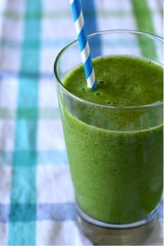 Healthy green smoothie for every day - and apparently increases fertility for those of you trying to conceive.