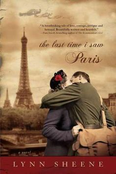 I am about finished reading 'The Last Time I Saw Paris', by Lynn Sheene. This book is a war romance during a time that shaped the world. It is an absorbing, suspenseful and romantic novel. The characters are extremely believable and well portrayed. It is a considerably shorter book than the last I read at 354 pages. I highly recommend this novel to any WWII historical romance buff reader like myself.