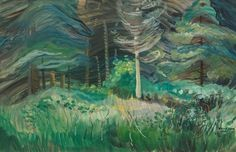Emily Carr, Country Artists, Canadian Artists, Franklin Carmichael, Tom Thomson, Group Of Seven, Impressionist Paintings, Art Museum, Collection
