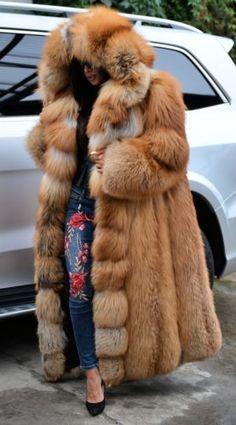 Новый золотой Королевский лисий мех длинное пальто капюшон класса шиншилла соболь норка серебро куртка