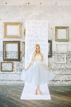 Calligraphy workshop with Parris Chic Boutique | 100 Layer CParris Chic Boutique - love the calligraphy paper in front of the framesake | Bloglovin'
