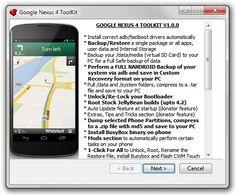 Nexus 4 Bootloader Toolkit – Now Easily Loack/Unlock, Root/Unroot Nexus 4