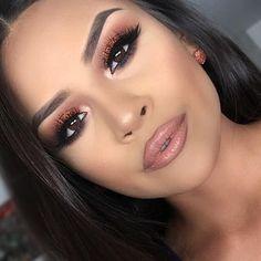 pretty make up Makeup On Fleek, Kiss Makeup, Flawless Makeup, Gorgeous Makeup, Love Makeup, Makeup Inspo, Makeup Inspiration, Hair Makeup, Makeup Style