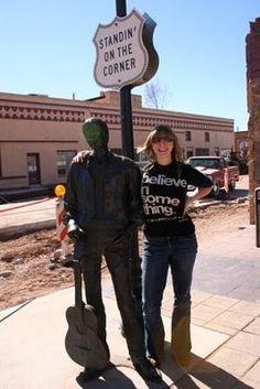 Standin' on the Corner, Winslow Arizona - The Eagles