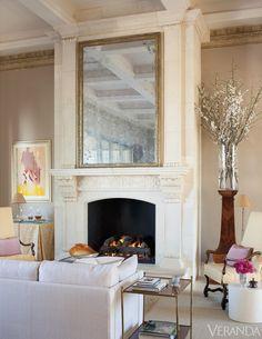 Palm Springs home. Interior design by John Saladino.