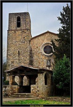 Església de Granollers de Rocacorba , Vall de Llémena Catalonia