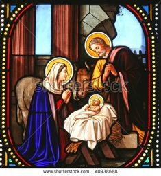 Stained glass nativity angels | The Daily Advance