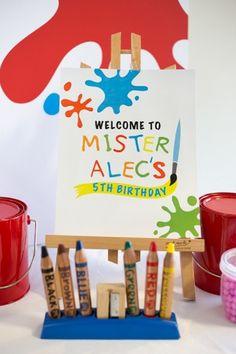 Anders Ruff Custom Designs, LLC: Mister Maker Art Party