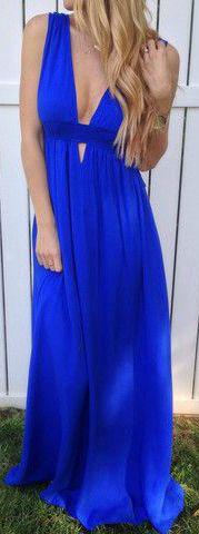 Ashlyn Maxi Dress – Lola Jeannine love the blue dress Fashion Moda, Look Fashion, Fashion Beauty, Dress Fashion, Cute Dresses, Beautiful Dresses, Summer Dresses, Maxi Dresses, Summer Maxi
