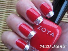 christmas nails <3