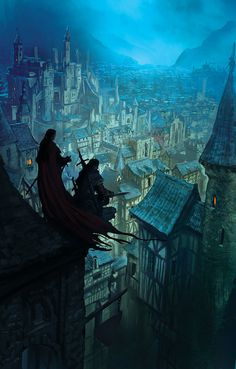 Various Cover Arts by marc simonetti, via Behance