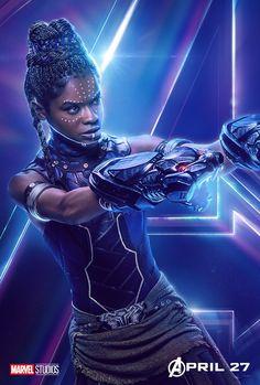 Avengers: Infinity War Shuri character original poster Marvel comic movie quality print