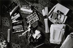 Hervé Guibert, Destruction des negatifs de jeunesse, 1986, gelatin silver print, 5 1/2 x 8 1/2 inches