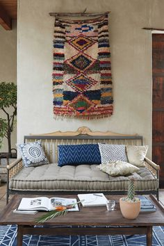 Anthropologie's New Arrivals: Moroccan Boucharouette Wall Decor - Topista #anthroregistry #anthropologie
