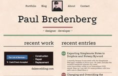 paul bredenberg homepage website layout design (scheduled via http://www.tailwindapp.com?utm_source=pinterest&utm_medium=twpin&utm_content=post12680044&utm_campaign=scheduler_attribution)
