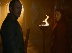 Melisandre says, Yep, Davos is right. Keep him alive. Never mind. Stannis says you can live.