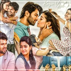 Love Couple Images, Cute Love Couple, Couples Images, Kannada Movies Online, Love Song Quotes, Movie Pic, Vijay Actor, Vijay Devarakonda, Actors Images