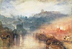 'Dudley', c 1832, by J. M. W. Turner (1775-1851)