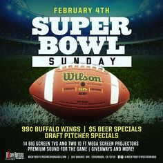 Come to Nicky Rottens in Coronado to watch the Super Bowl!! 🏈 No Cover, .99 wings & tons of beer! 🍺 Tag some friends & get here early to secure your spots! 🤩 #lajollalocals #sandiegoconnection #sdlocals - posted by Nicky Rottens  https://www.instagram.com/nickyrottenscoronado. See more post on La Jolla at http://LaJollaLocals.com