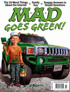 mad magazine in Books, Comics and Magazines Mad Magazine, Magazine Covers, Alfred E Neuman, Ec Comics, Funny Memes, Hilarious, Mad World, You Mad, Magazine Articles
