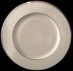 Lenox MONTCLAIR B501 Platinuim Trim Salad Plate