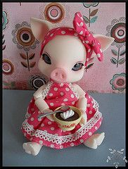Weird/cute pig one. I'd get it for Savannah