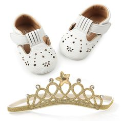 Gentle Spring Autumn Baby Shoes Casual Girls Soft Shoes Pu Leather Baby Moccasins Gold Dot Led Shoes Kids First Walker Toddler 0-18m First Walkers