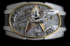 The Official Star Trek Command Insignia Belt Buckle (issued by Franklin Mint - 1999) Its been raining for the last two days. Should I also mention my Mom is one of the original Trekkies? More test ...