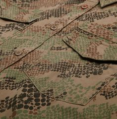 Maharishi Woodland Snakeskin Camo