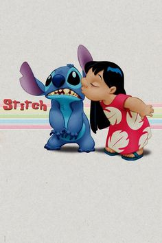 Lilo and stitch. Disney and Pixar come up with the CUTEST characters!!