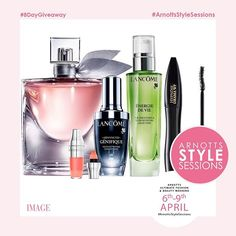 WIN!!!The @arnottsdublin #ArnottsStyleSessions are almost here and to celebrate we have an 8-day countdown of amazing prizes up for grabs! Our fifth amazing giveaway is a @lancomeofficial beauty hamper worth over 240! To win this fabulous prize simply like this photo and tag your best friend who'd love to win too! The winner will be announced soon but stay tuned for our next fantastic giveaway! If you'd like to come to the complimentary #ArnottsStyleSessions simply log onto image.ie to…