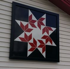 Barn Quilt This pattern is called Flying Swallows - for Sharee Barn Quilt Designs, Barn Quilt Patterns, Pattern Blocks, Quilting Designs, Star Quilts, Quilt Blocks, Star Blocks, Painted Barn Quilts, Barn Signs