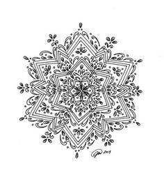 really hard mandala coloring pages | 1000+ images about Mandala on Pinterest | Mandala coloring ...