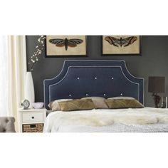 Safavieh Tallulah Headboard, Multiple Colors, Blue