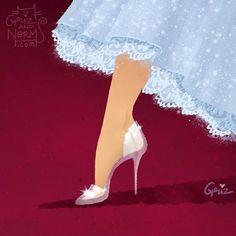 Griz & Norm Lemay Disney Shoes fit for Cinderella Stuart Weitzman Disney Princess Shoes, Cinderella Shoes, Disney Shoes, Princess Outfits, Princess Clothes, Cinderella Princess, Disney Fan Art, Disney Style, Disney Love
