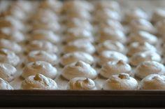 Pumpkin Spice Meringues || HeathersDish.com