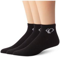 Pearl Izumi Men's Attack Low Socks (3 Pack), Black, X-Large - http://www.exercisejoy.com/pearl-izumi-mens-attack-low-socks-3-pack-black-x-large/cycling/